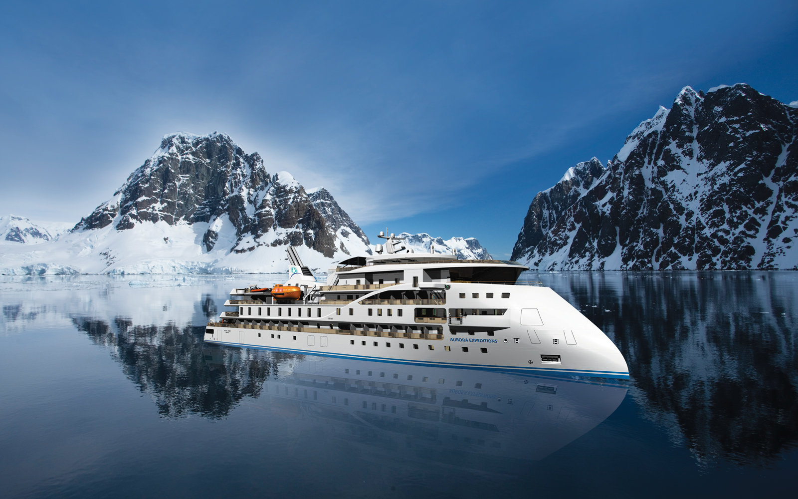 Aurora Expeditions new ship, the Greg Mortimer