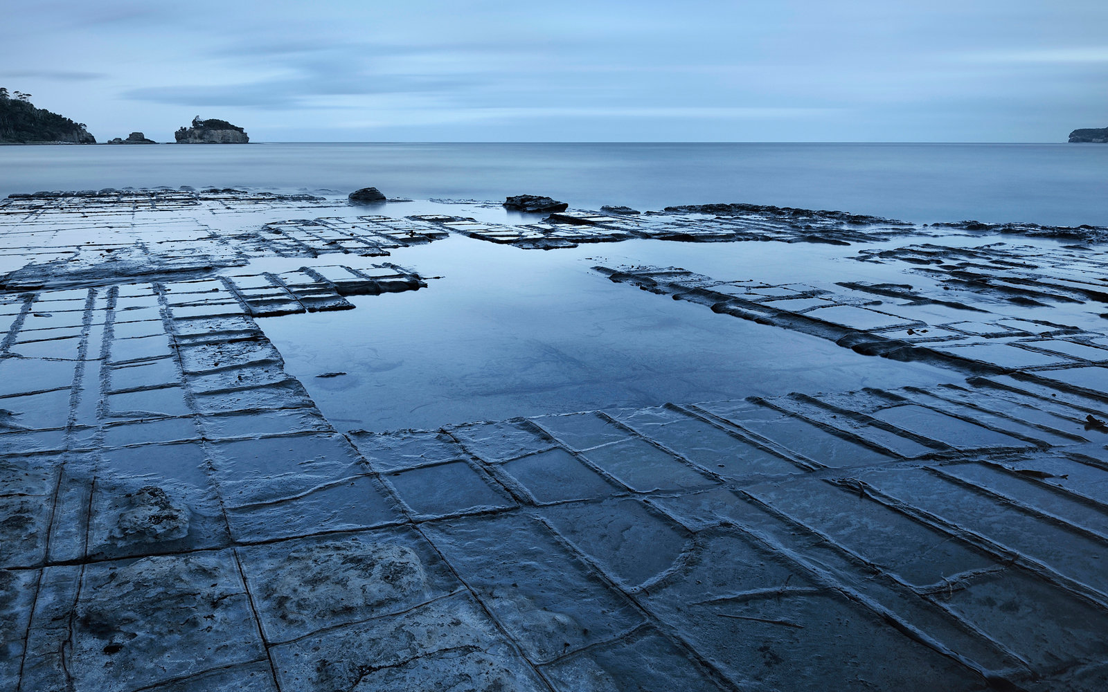 It took the Earth millions of years to make this strangely pavement-like rock formation