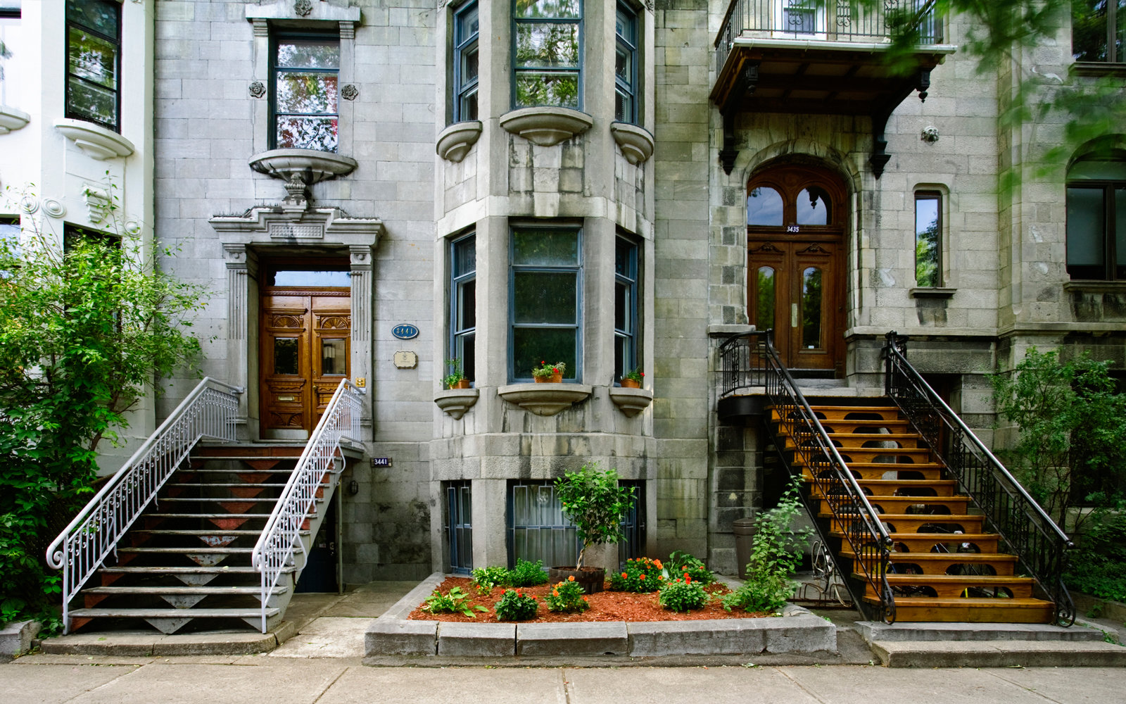 Townhomes in Montreal, Quebec, Canada