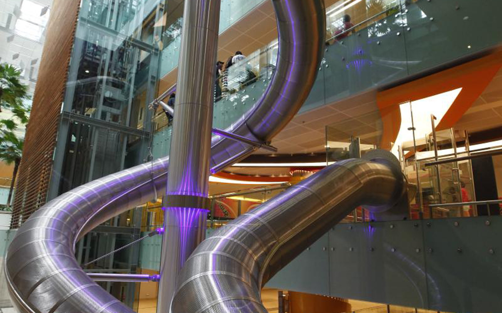 This Airport Has a Massive Slide That Will Take You to Your Gate