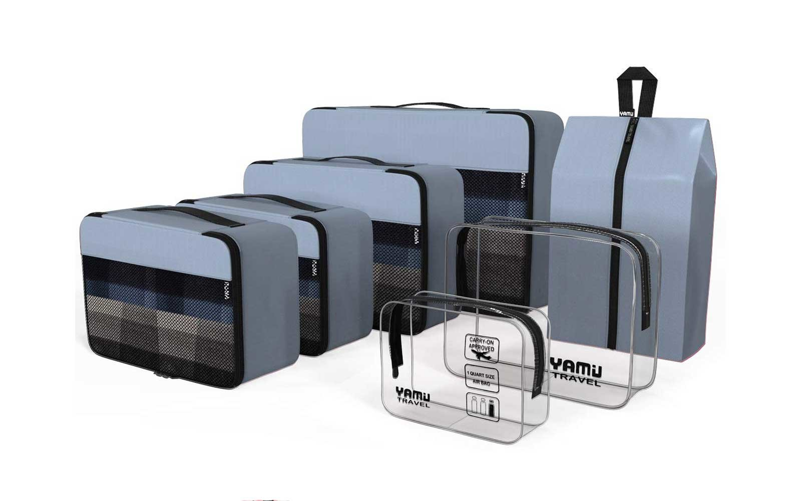 Best for Accessories: Yamiu Packing Cubes