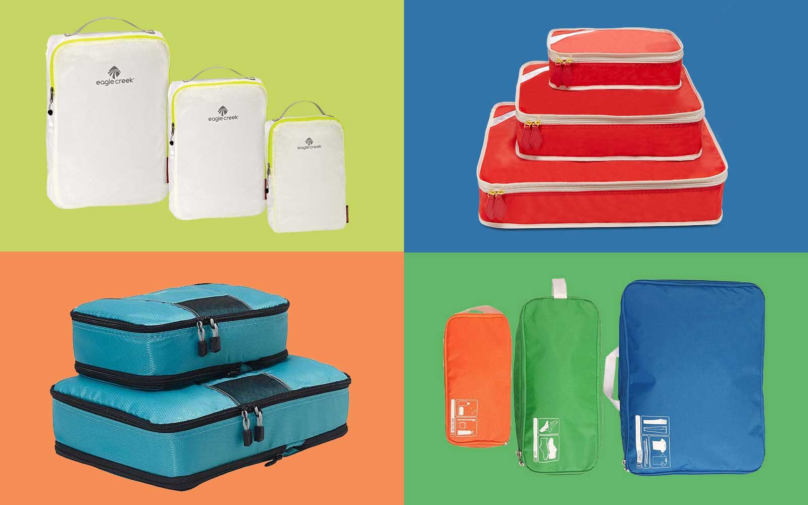 202ad059c The Best Packing Cubes for Travel | Travel + Leisure