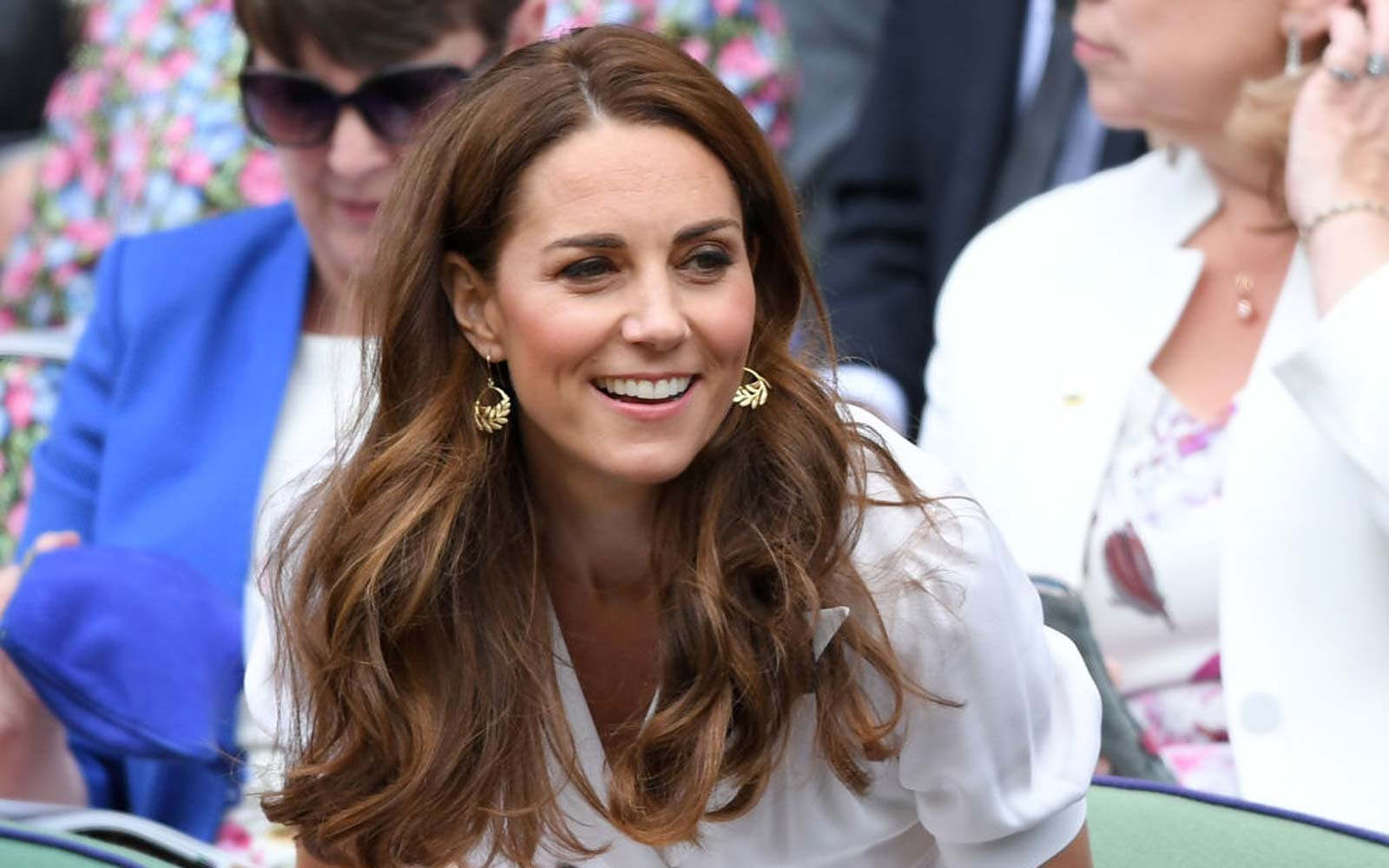 Catherine, Duchess of Cambridge attends day two of the Wimbledon Tennis Championships