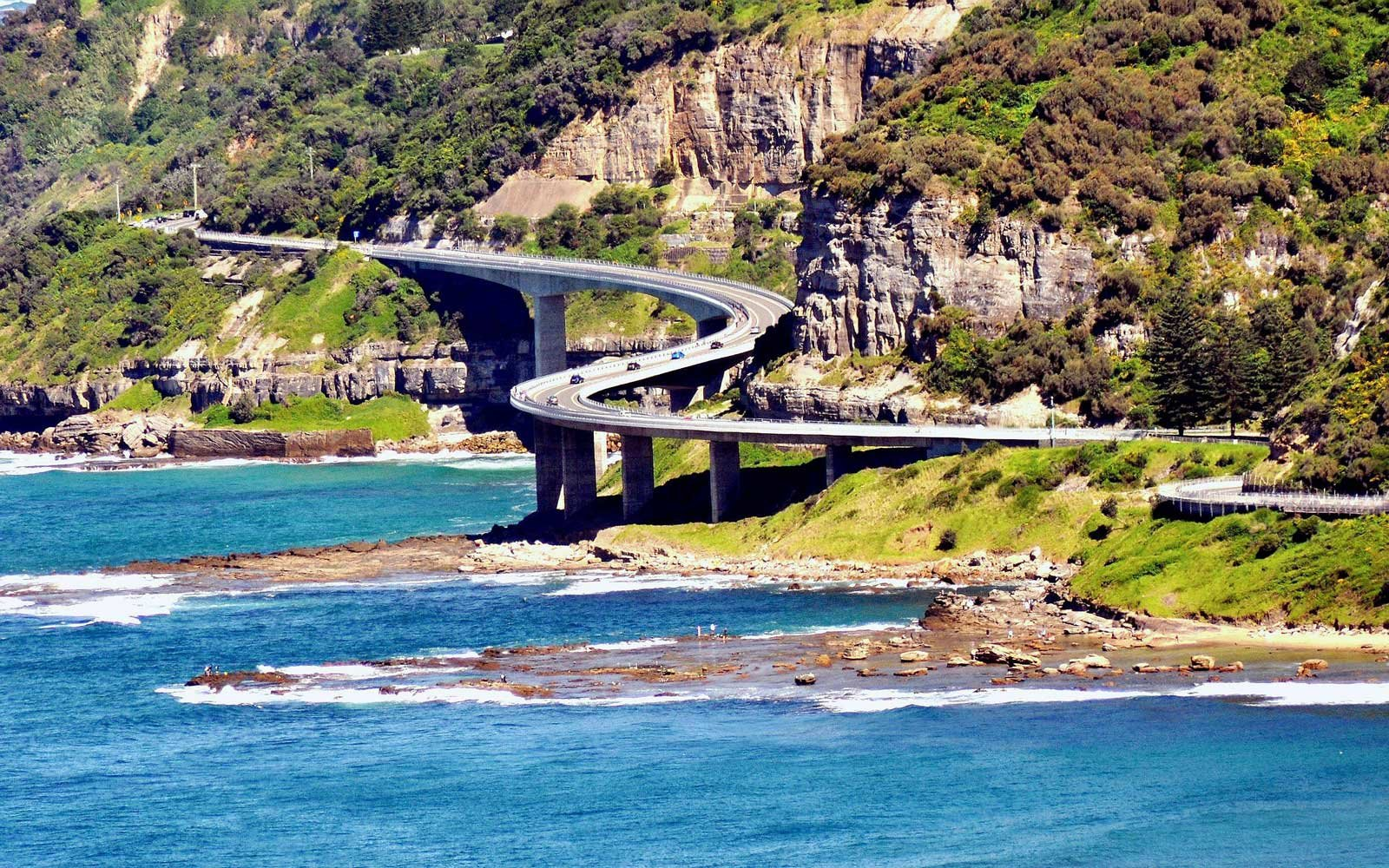 Sea Cliff Bridge Wollongong, New South Wales