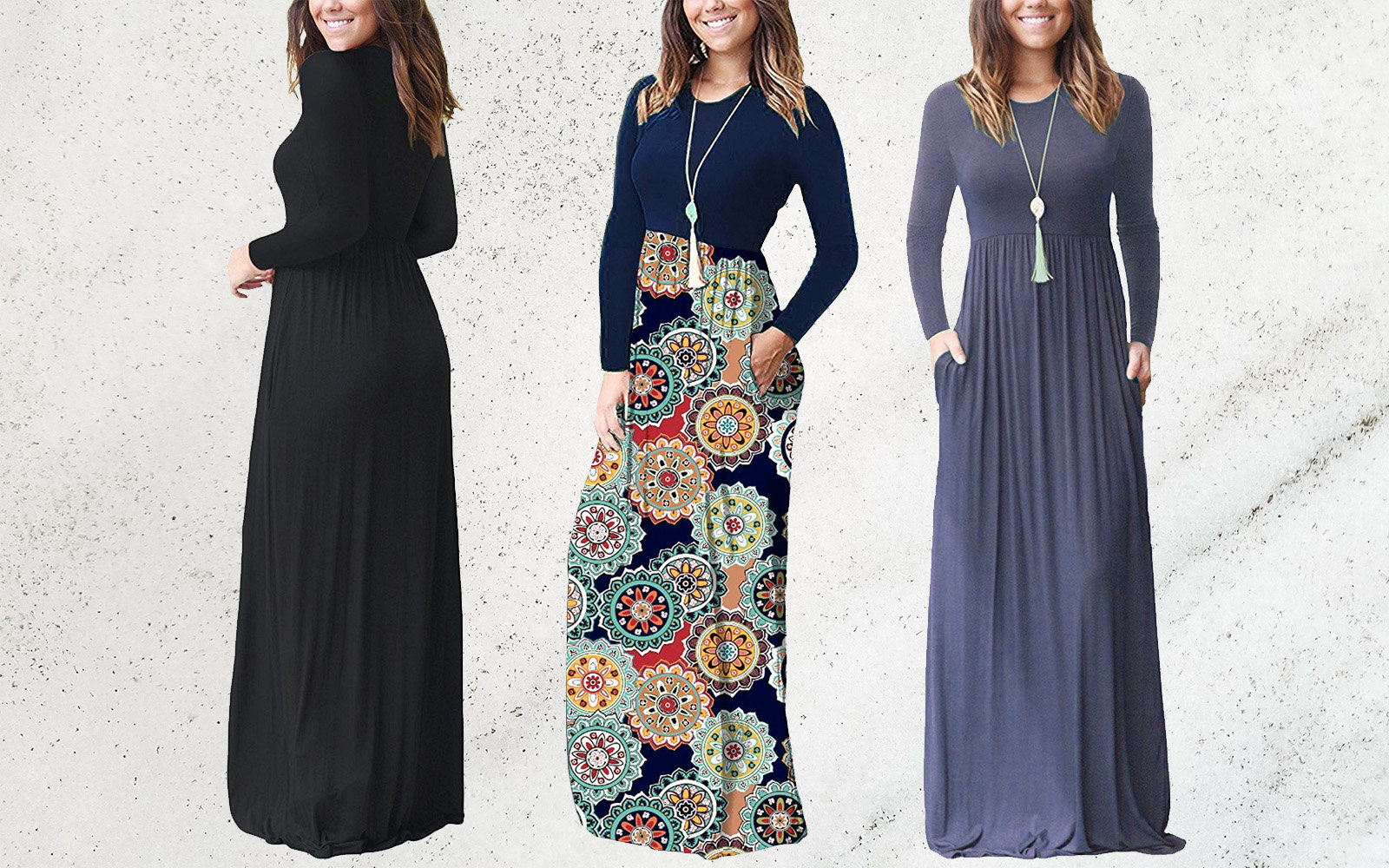 This Super Comfy Maxi Dress Is Perfect for Traveling — And It's Only $17 for Prime Day