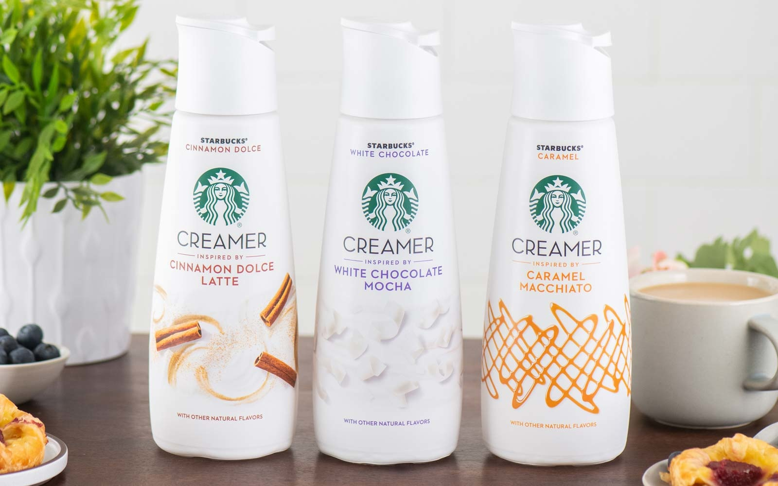 Starbucks Is Changing the At-Home Coffee Game with 3 Creamers Inspired by Their Popular Drinks