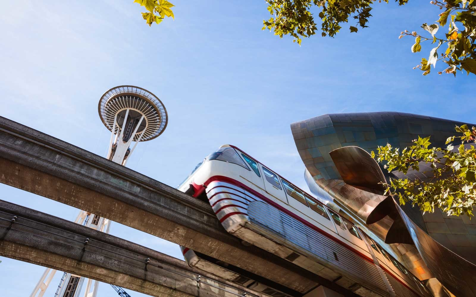 Seattle Space Needle and Monorail
