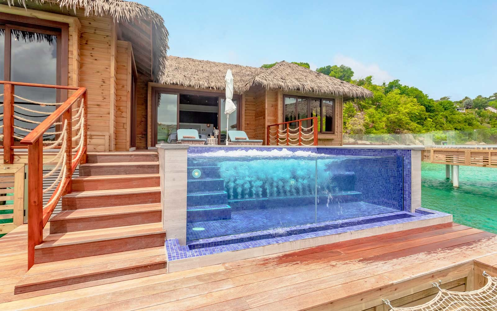 Overwater Bungalow at Royalton Antigua