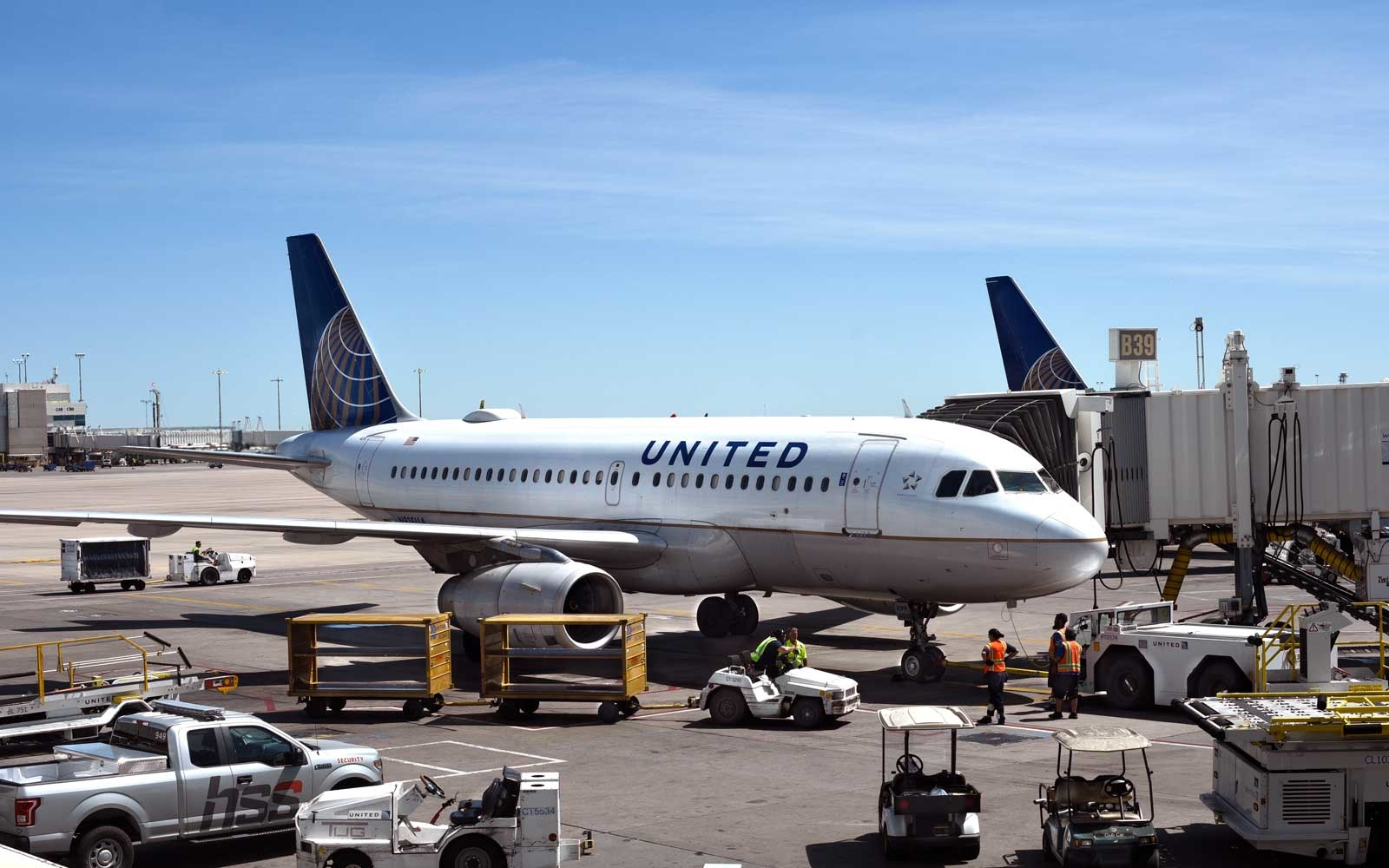 United is expanding its flight connection app to even more airports