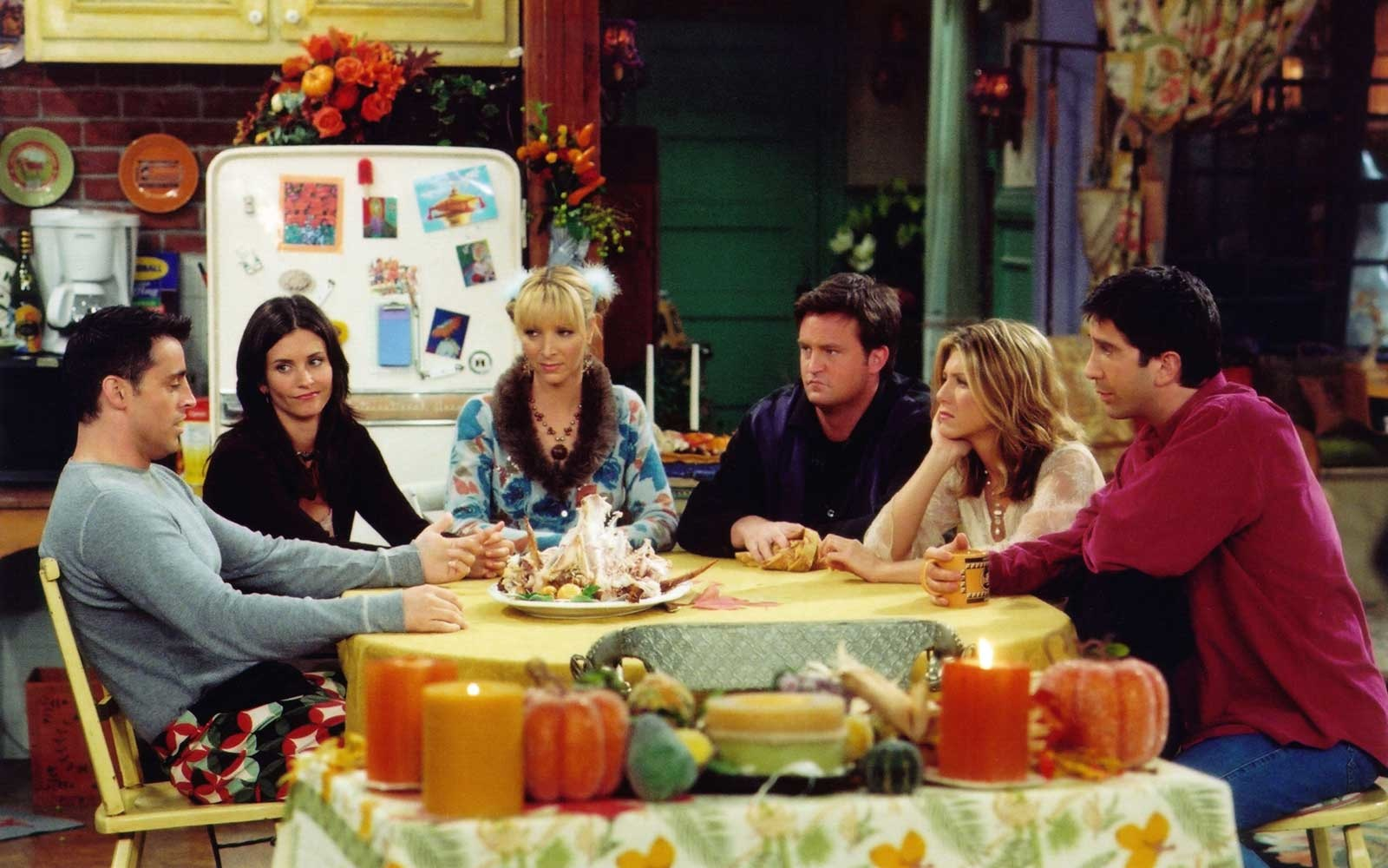 Scene from the television show, Friends