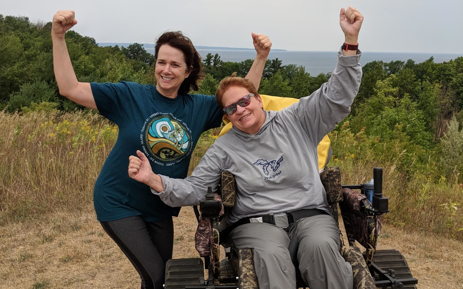 Track chair program at Sleeping Bear Dunes National Lakeshore
