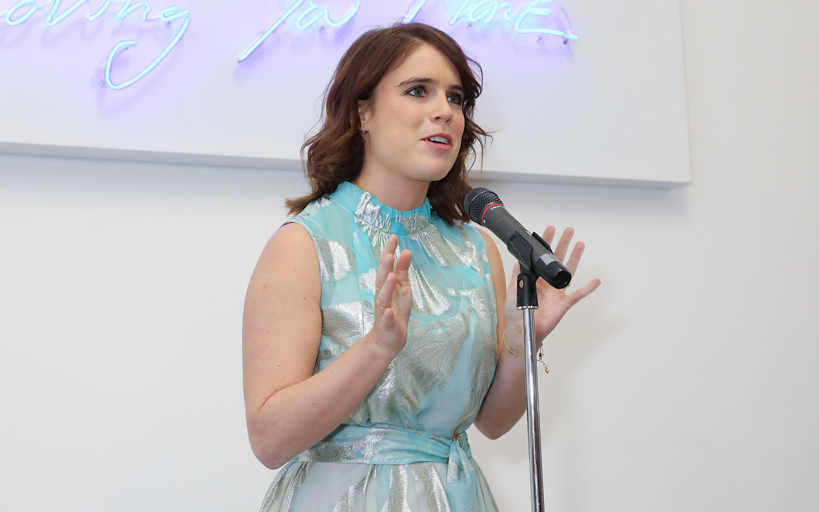 Princess Eugenie is launching the royal family's first podcast