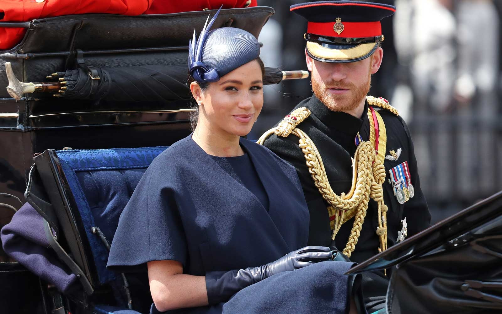 Duchess Meghan and Prince Harry of Sussex