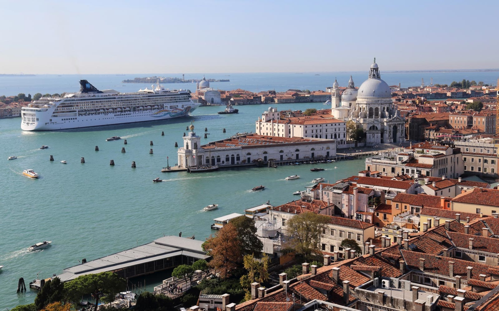 Venice to ban large cruise ships after 10 year battle