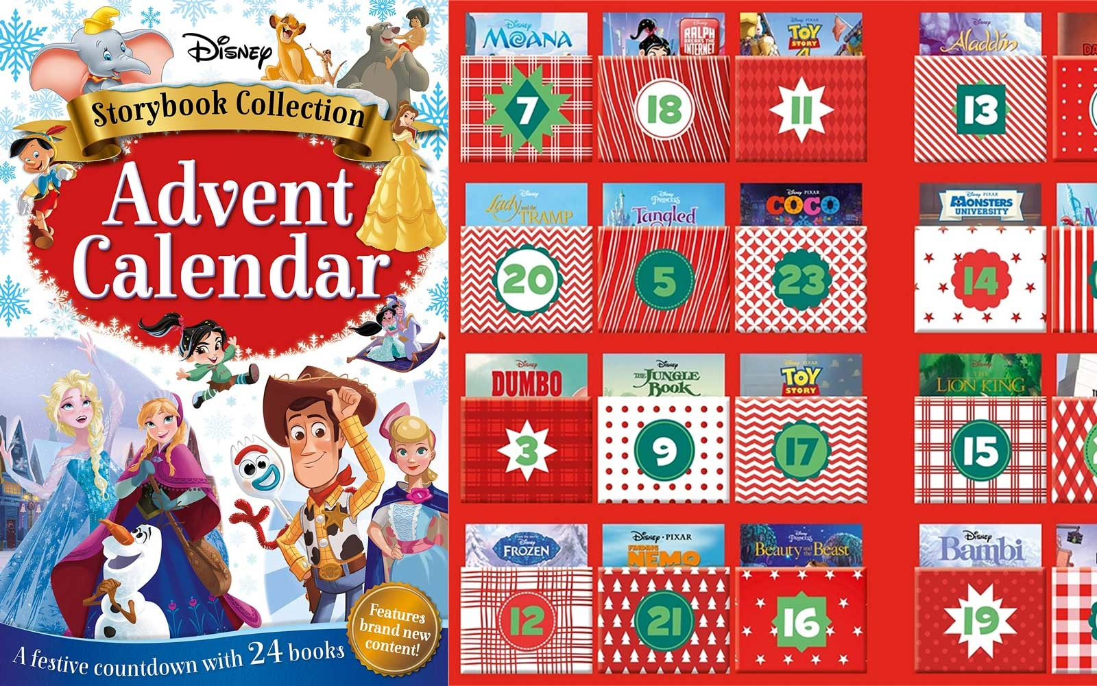 Disney's Storybook advent calendar
