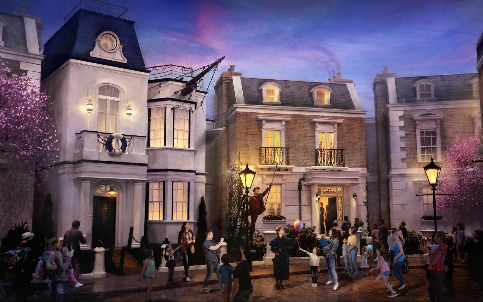 Disney World just announced its first-ever Mary Poppins attraction