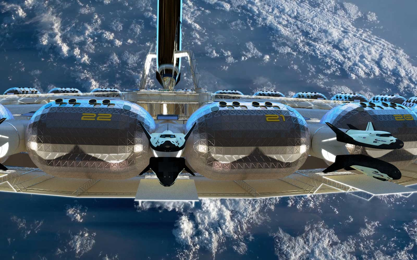 World's First Space Hotel Unveils with Artificial Gravity