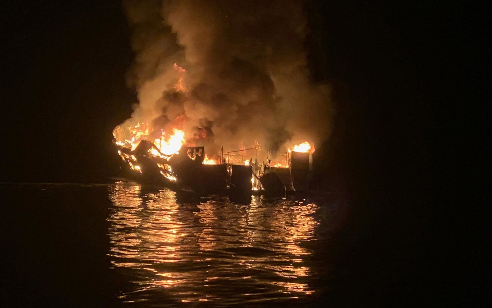 8 dead, 26 unaccounted for in California boat fire