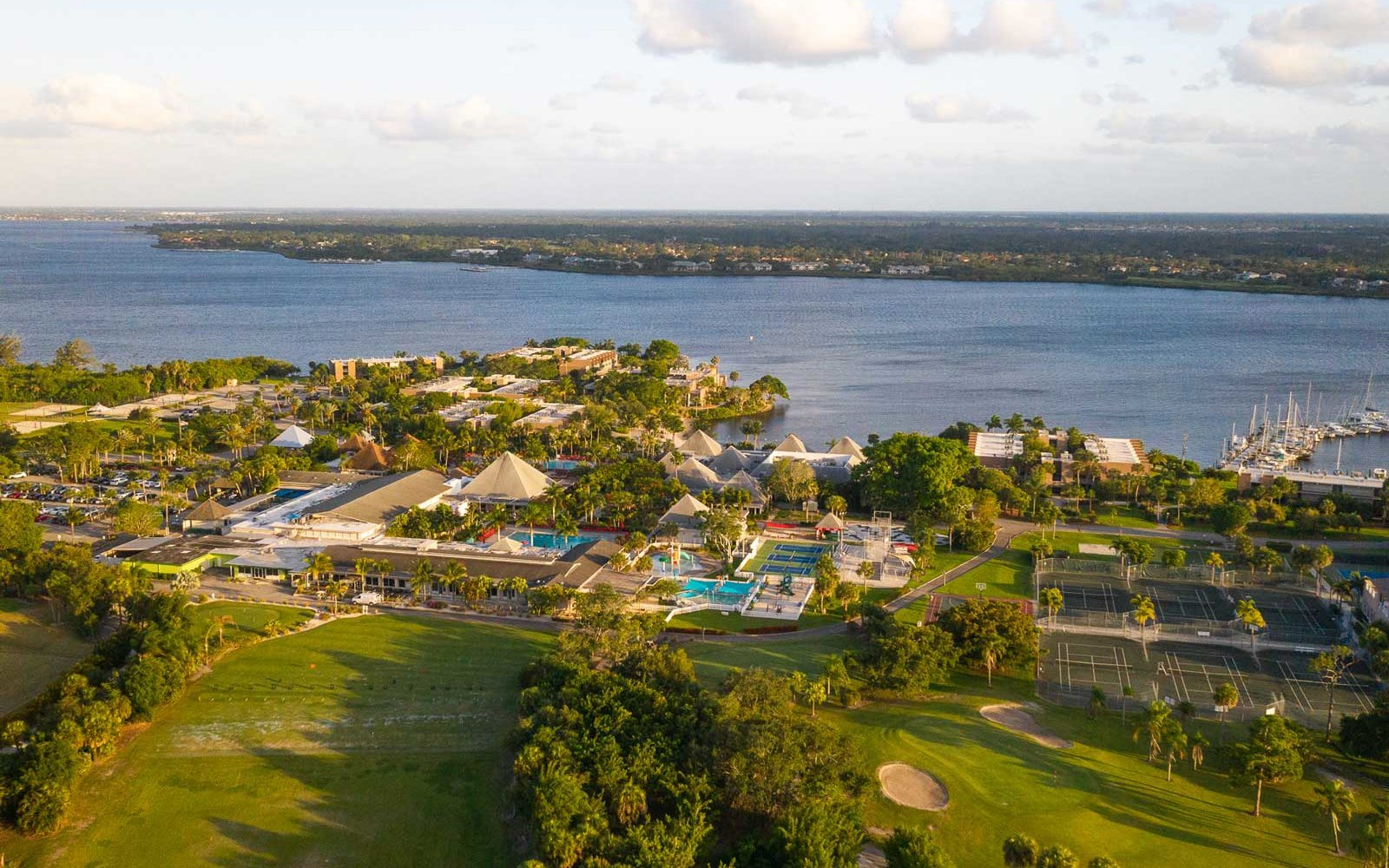 St. Lucie River, Club Med Sandpiper Bay