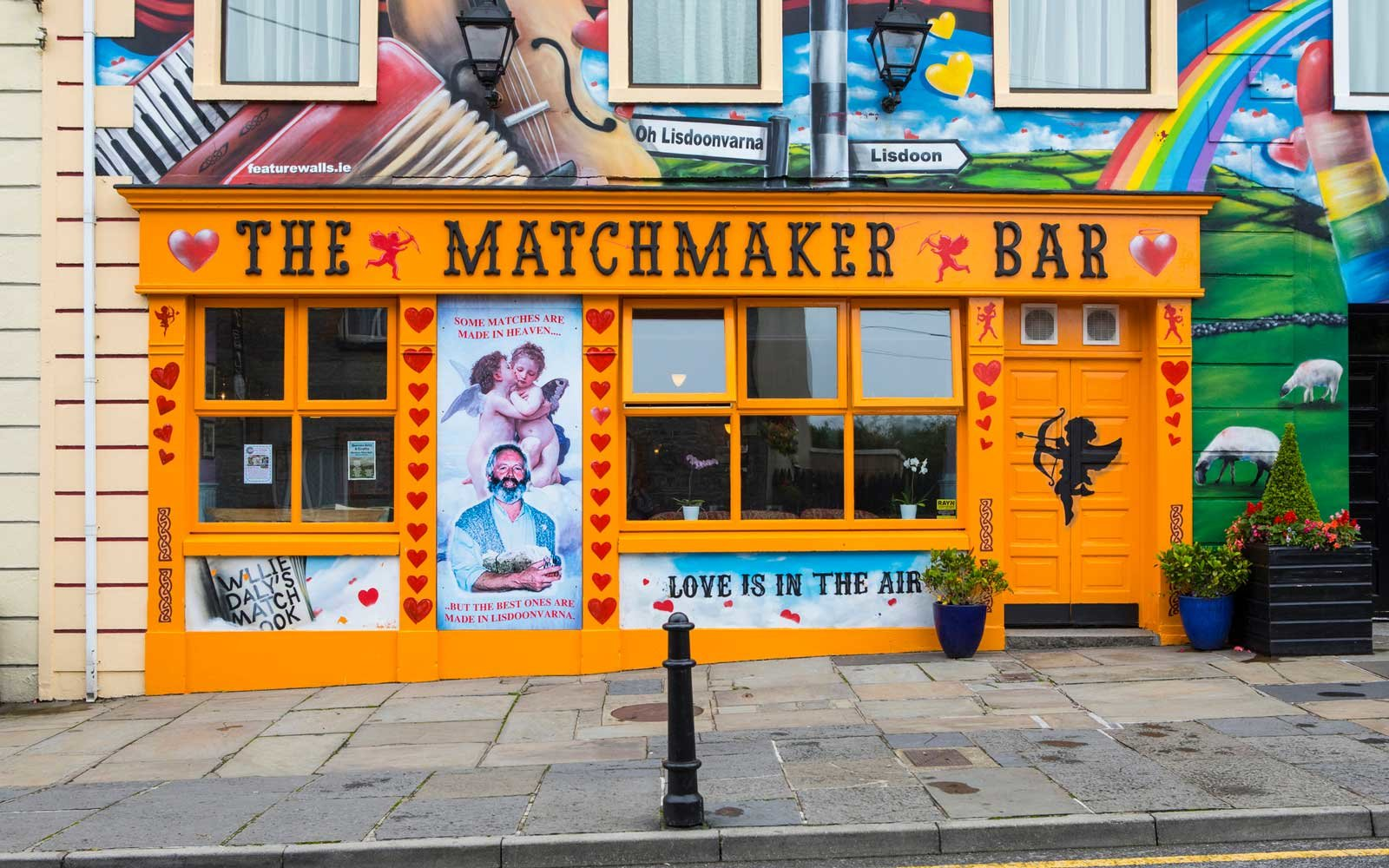 The Matchmaker Bar in Lisdoonvarna, Republic of Ireland
