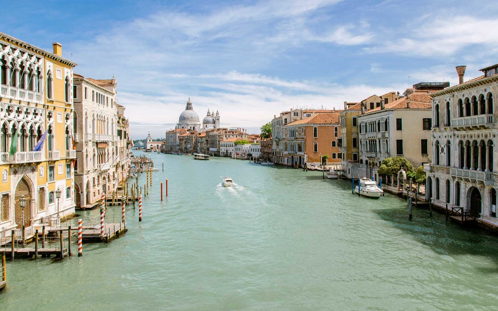 Venice police find two naked tourists swimming in canal