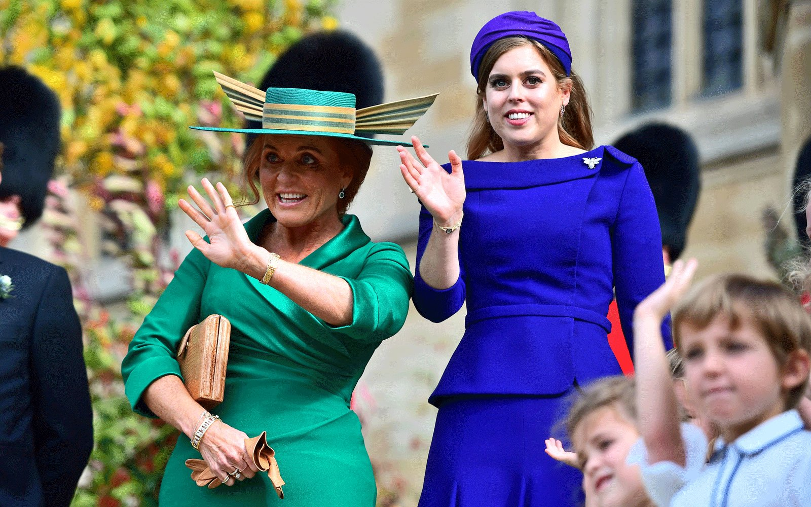 Sarah Ferguson and Daughter Princess Beatrice
