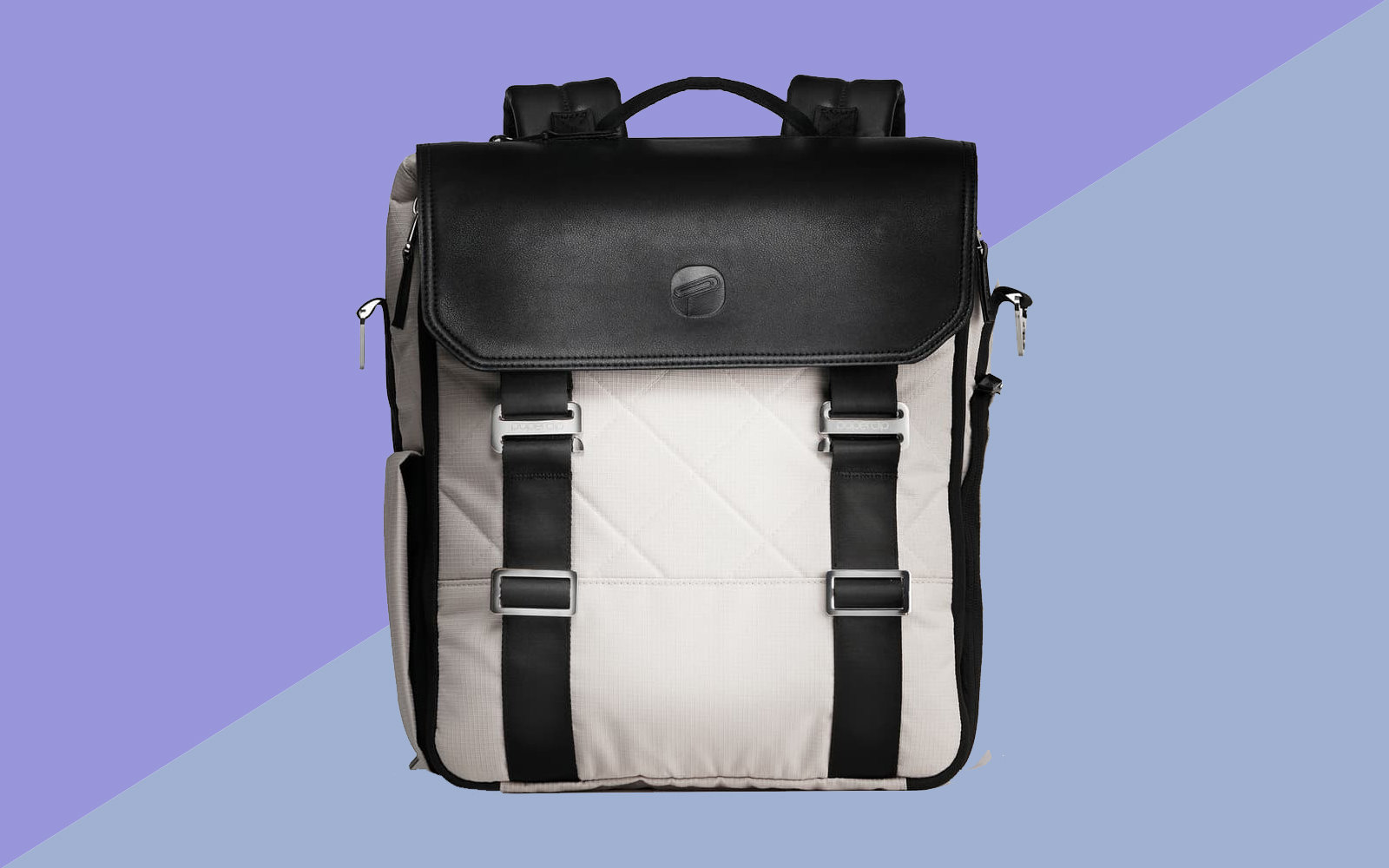 This Diaper Bag Is Made From Recycled Ocean Plastic And