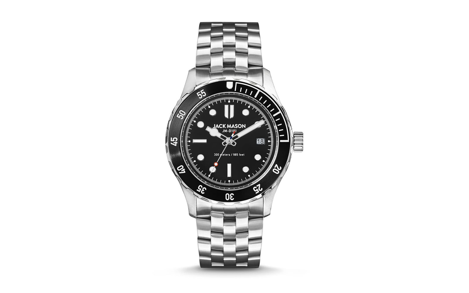 Diving Bracelet Watch, 42mm JACK MASON