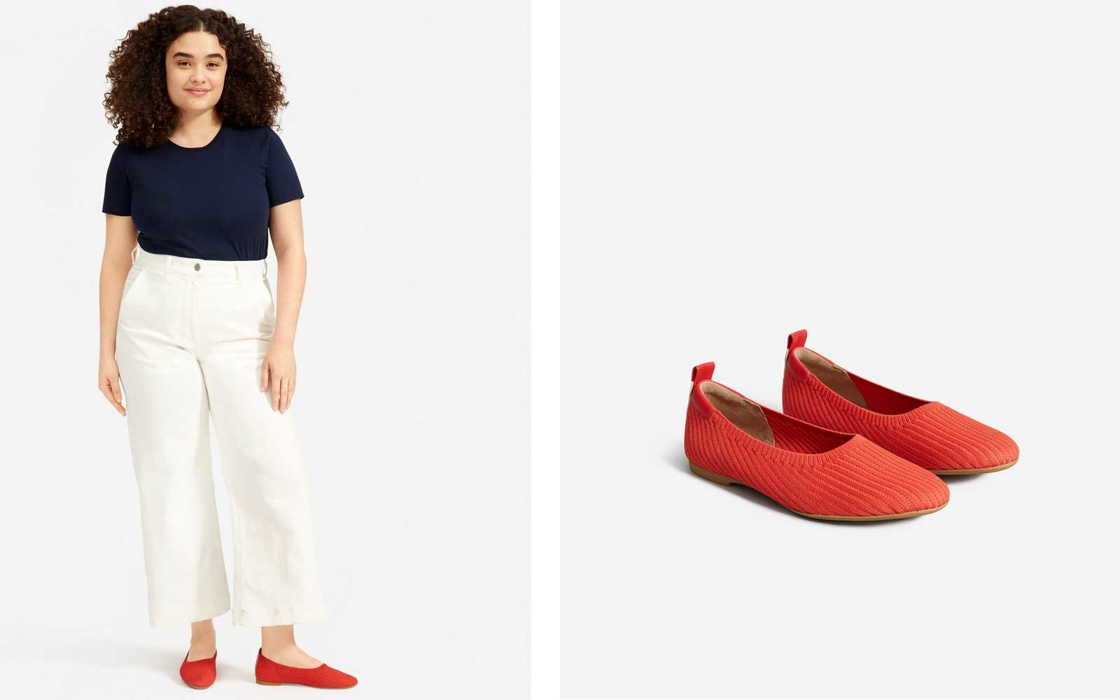 Everlane Day Glove Knit Flats