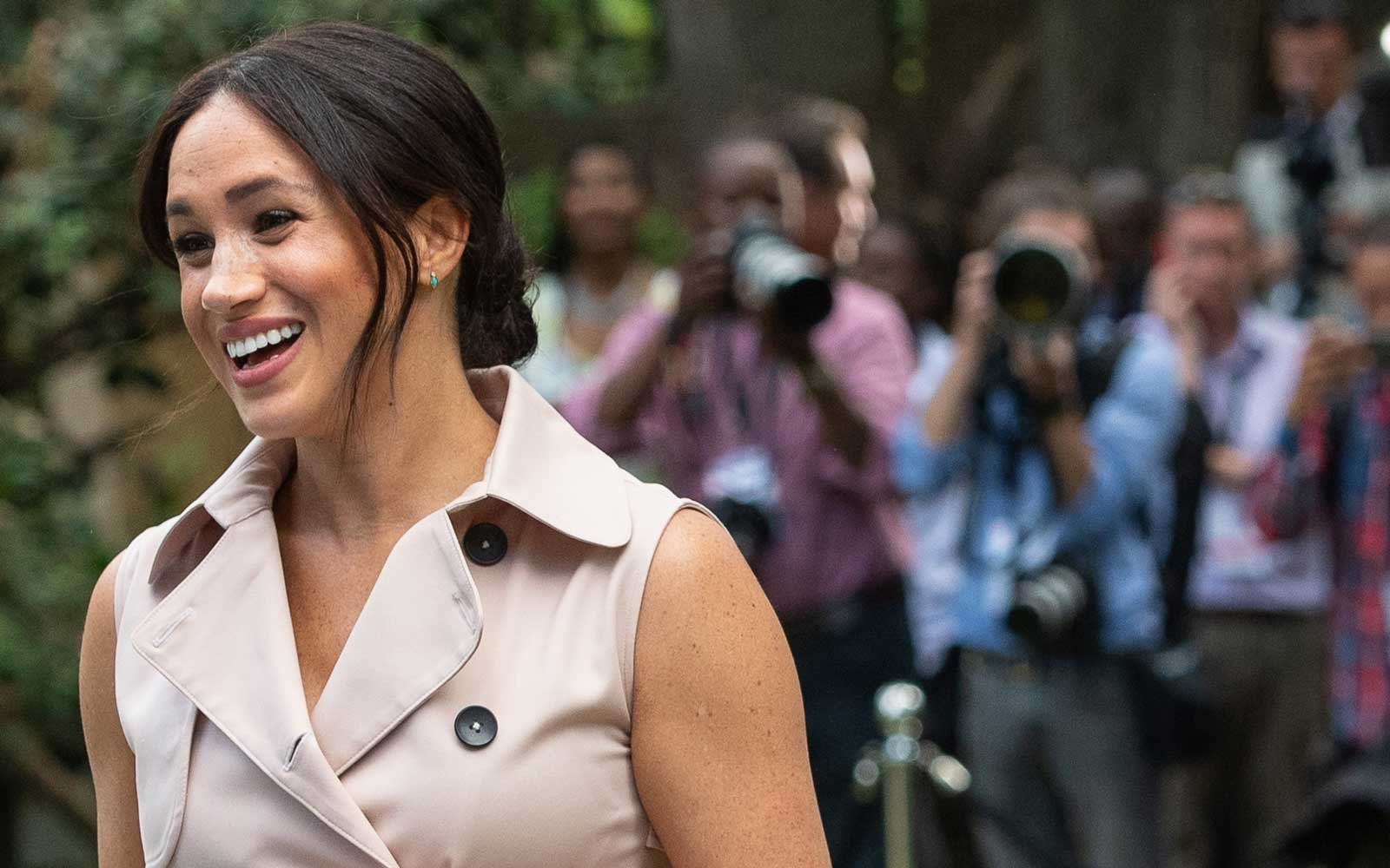 Duchess Meghan of Sussex in Johannesburg, South Africa