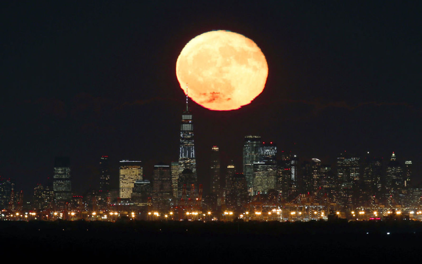 Tonight's pale orange full moon will stop you in your tracks — here's when to look for it