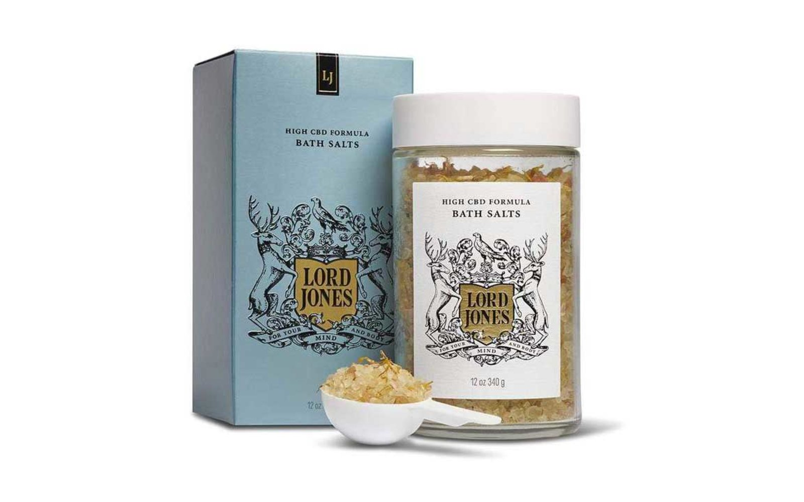 To Give: Lord Jones High CBD Formula Bath Salts