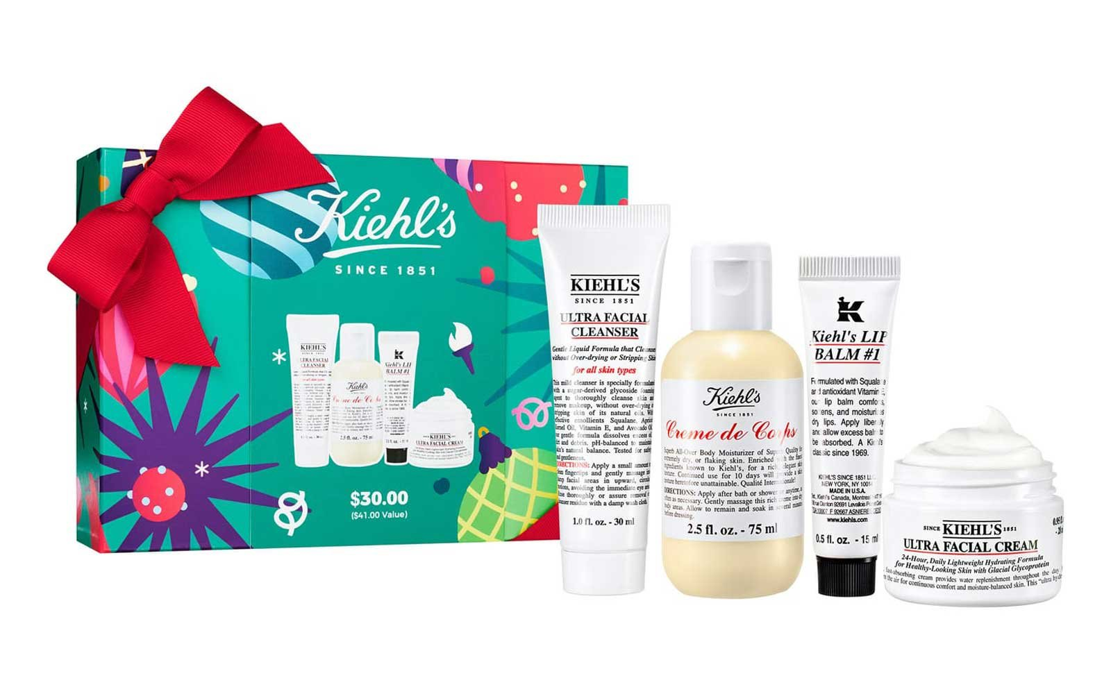 Kiehl's Hydration Essentials Ultra Facial Cleanser Set