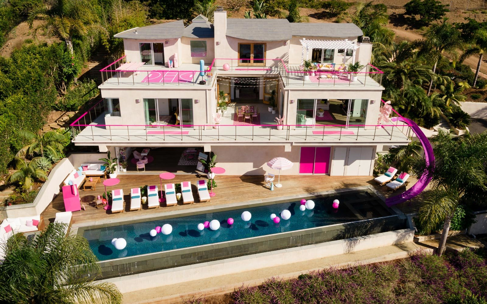You can actually stay in Barbie's Malibu Dreamhouse thanks to Airbnb