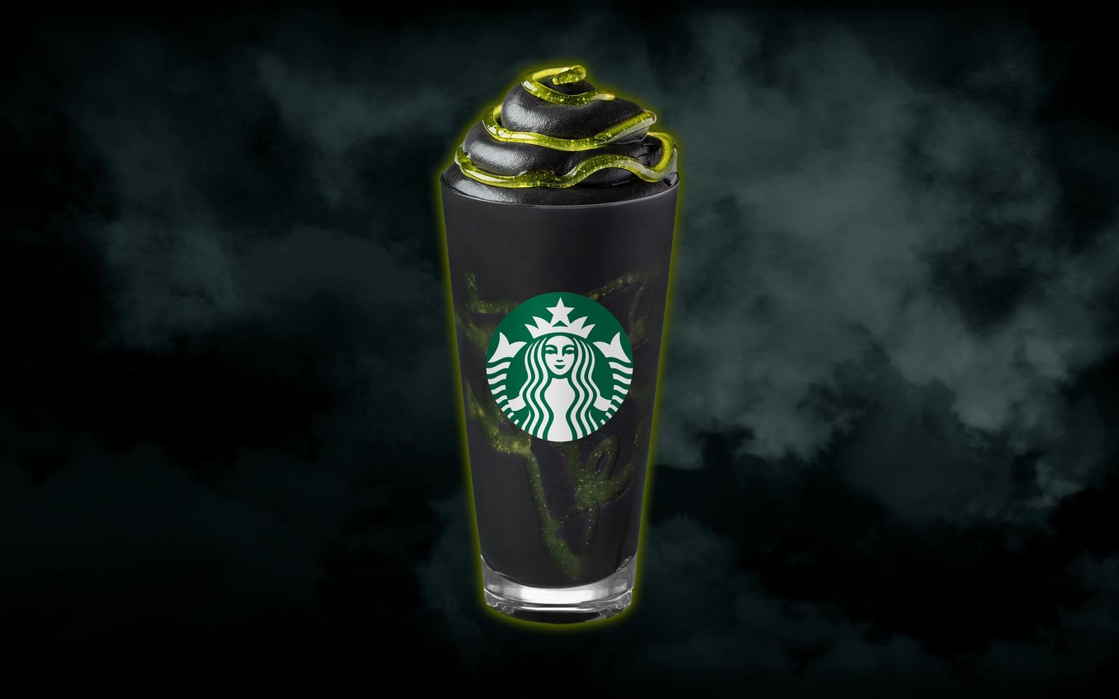 The NEW Starbucks Phantom Frappuccino