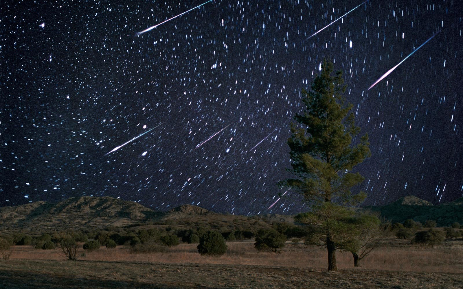 The Leonid Meteor Shower will light up the sky Monday night