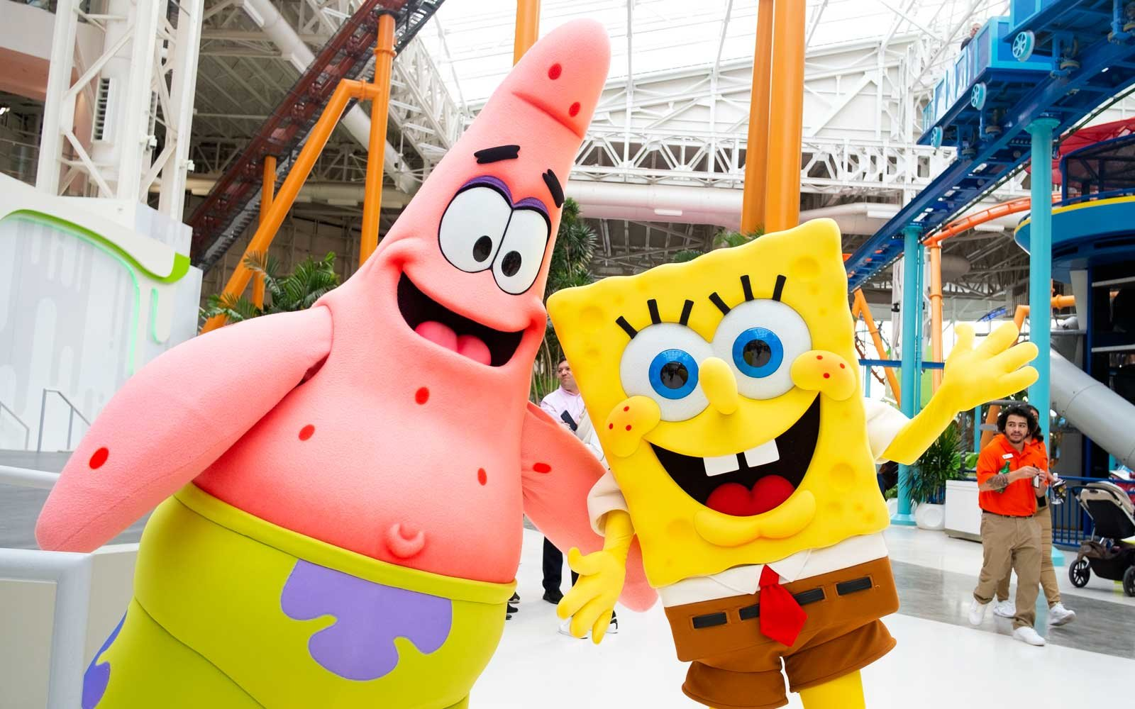 American Dream's Nickelodeon Universe in East Rutherford, New Jersey