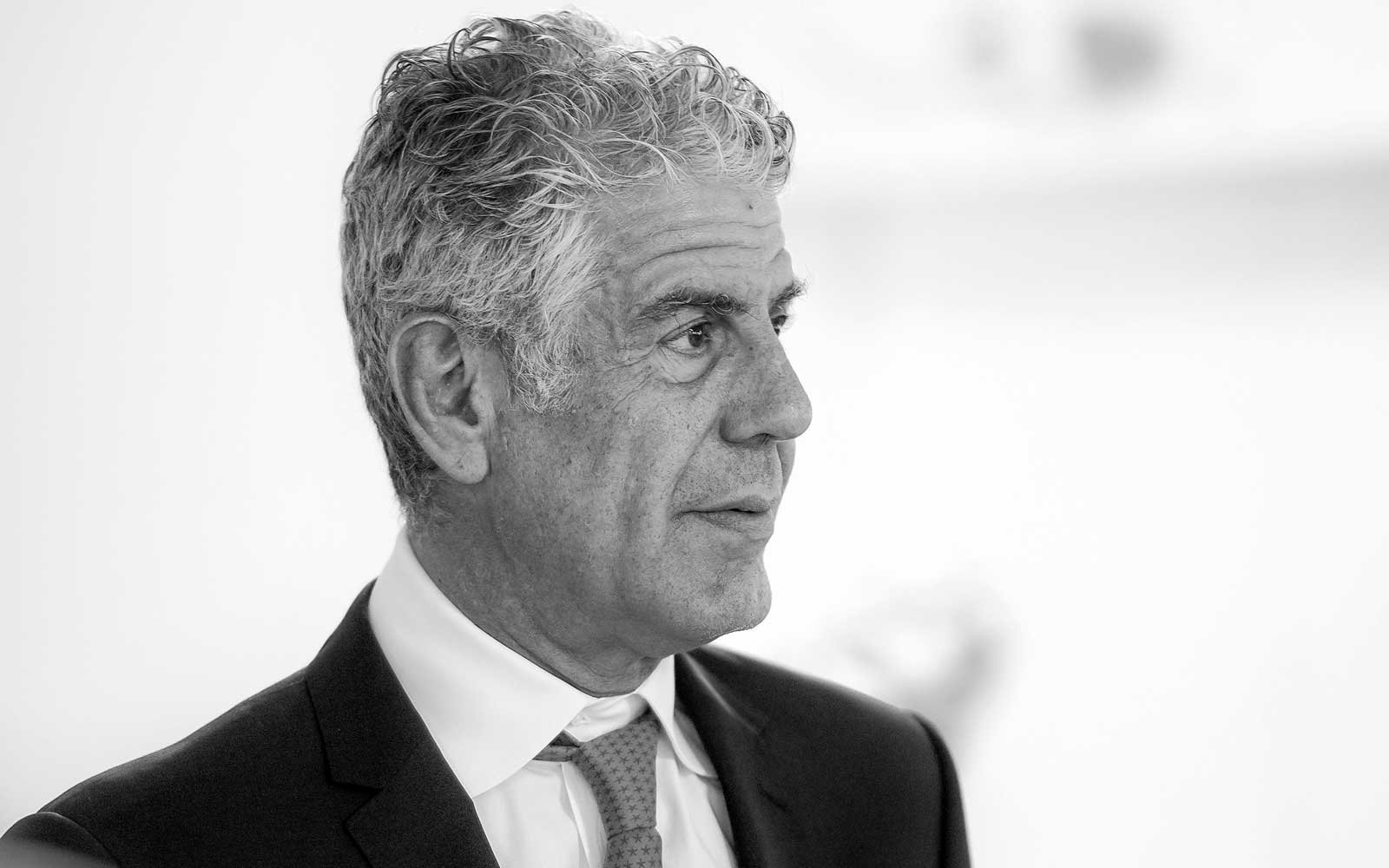 Anthony Bourdain's favorite knife sold for more than $230,000 at auction