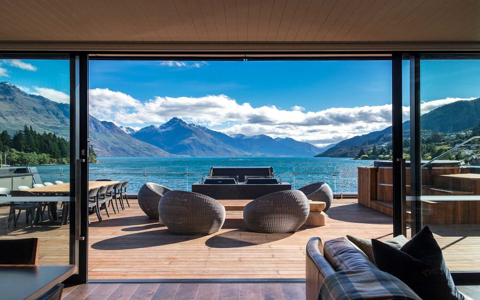 This luxurious New Zealand hotel only has 13 rooms — all with stunning views
