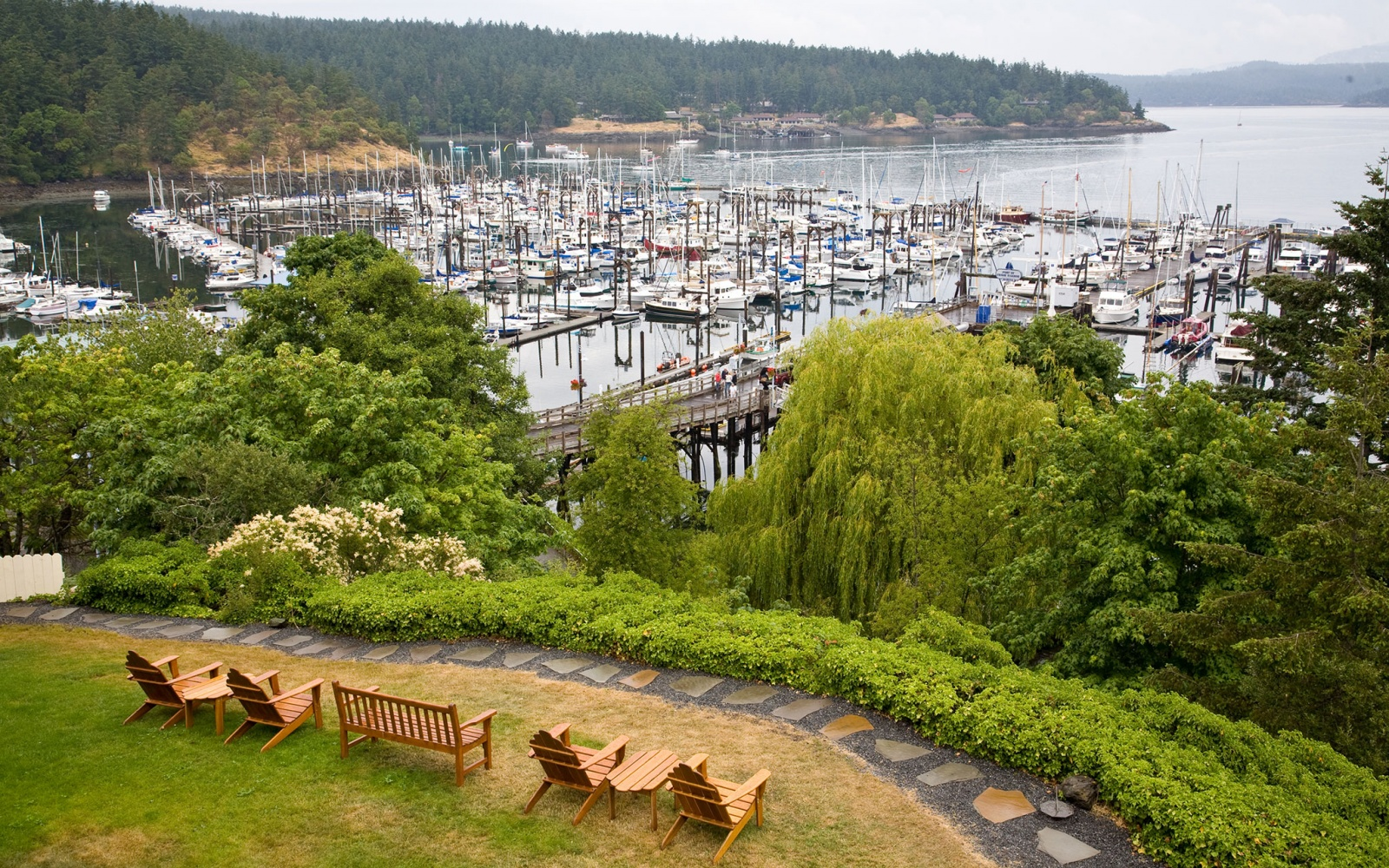 Friday Harbor, San Juan Island, Washington