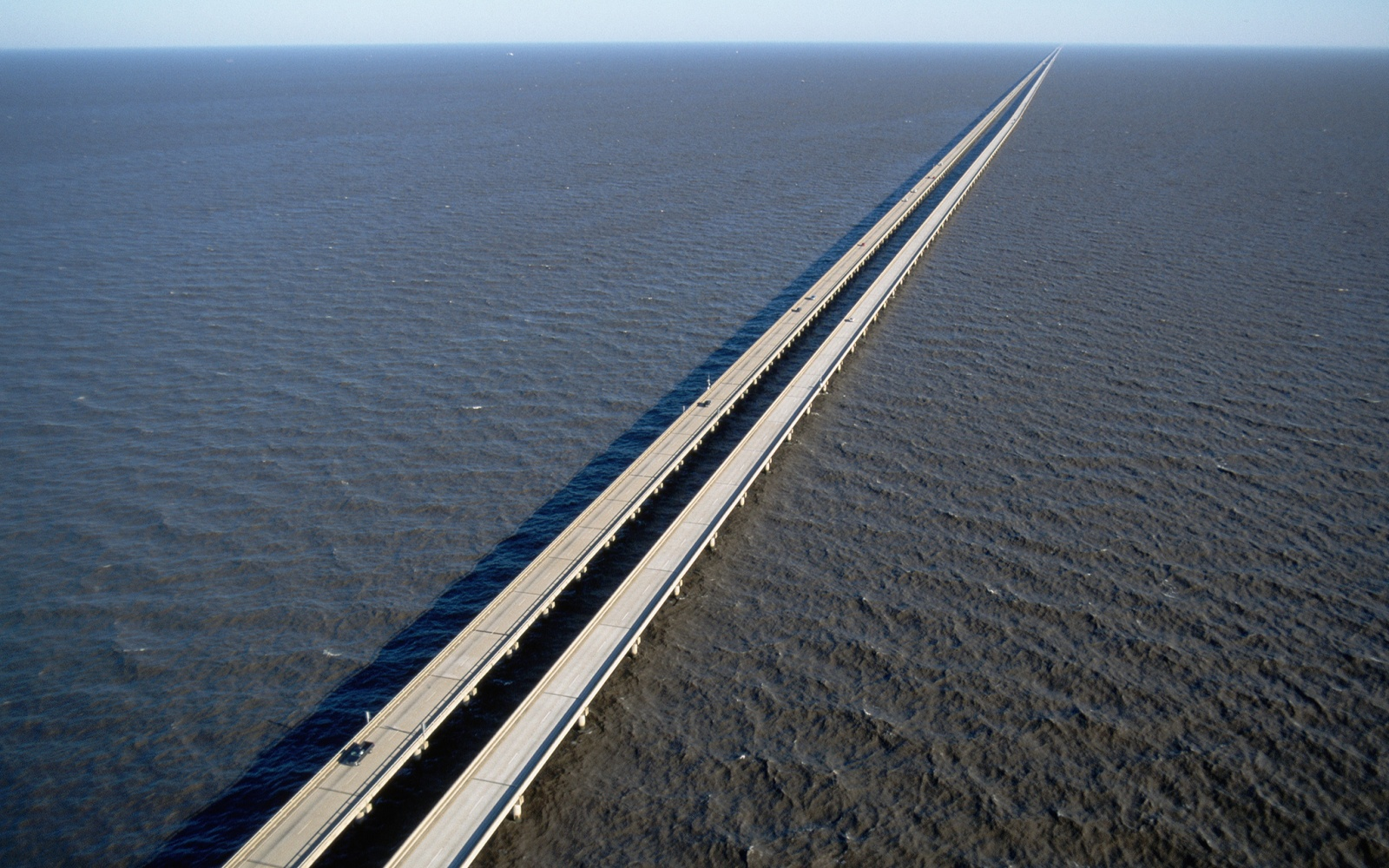 Lake Pontchartrain Causeway, Louisiana
