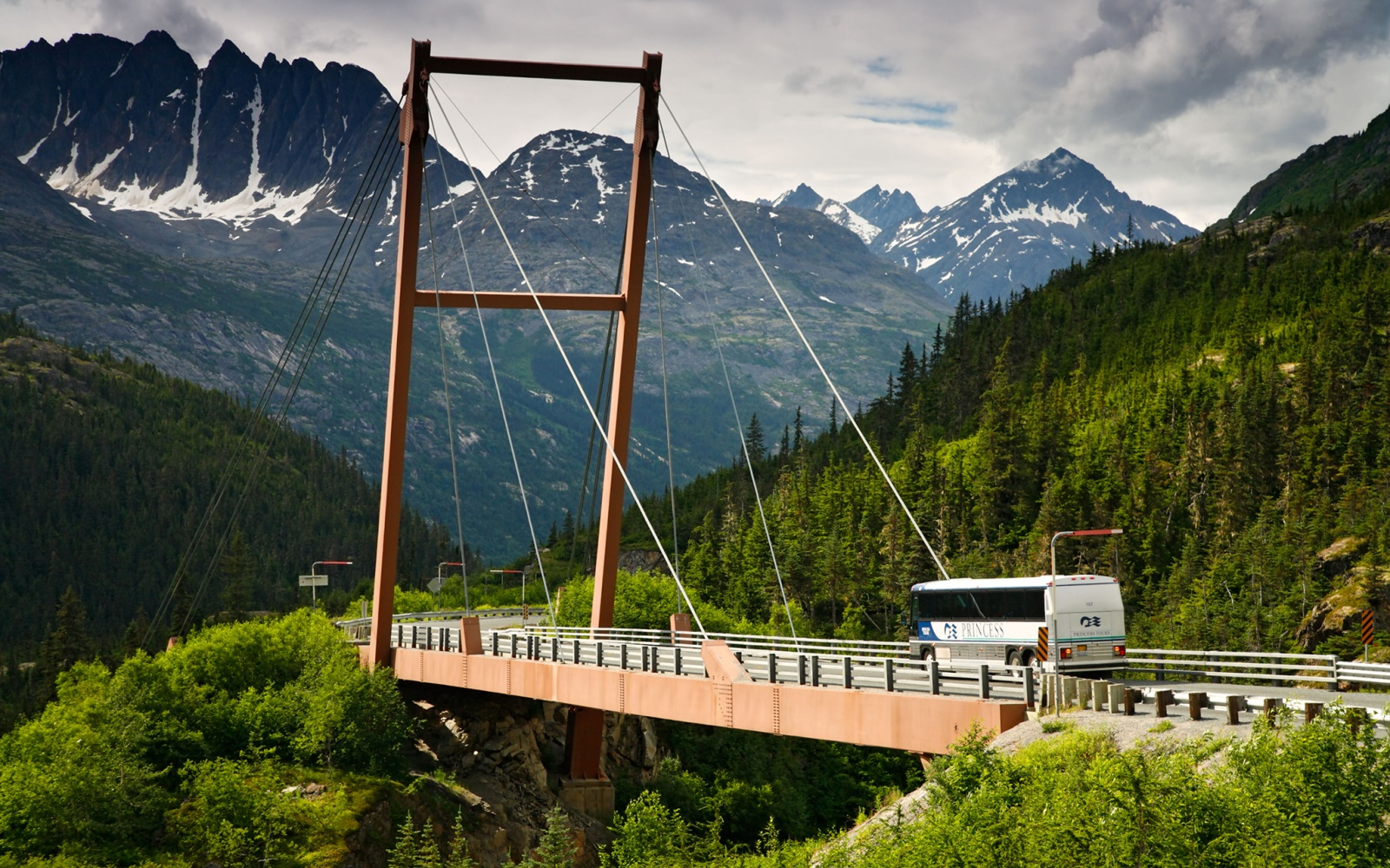 Captain William Moore Bridge, Alaska