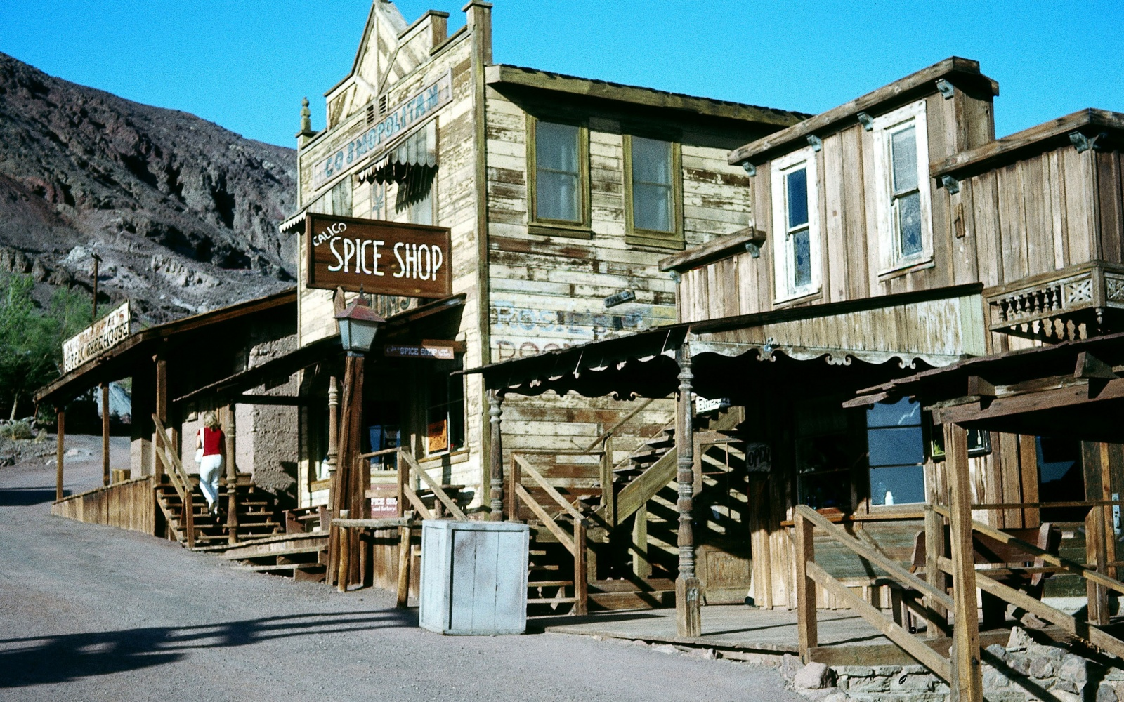 american ghost towns Calico, California