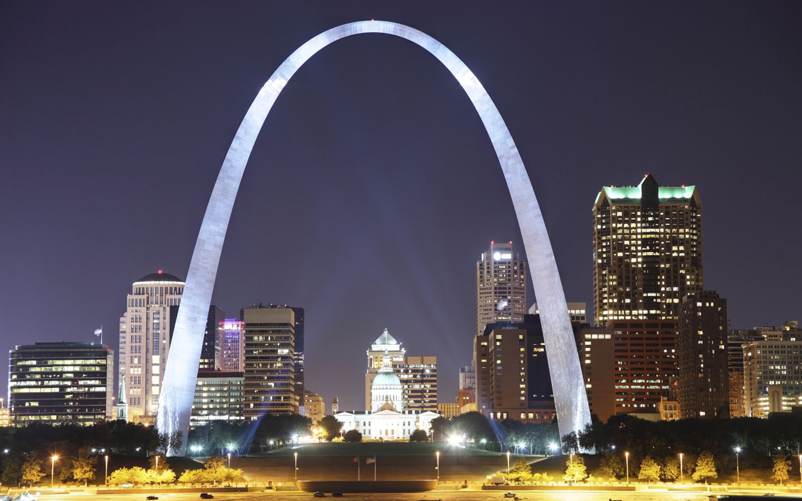 Gateway Arch in St. Louis, MO