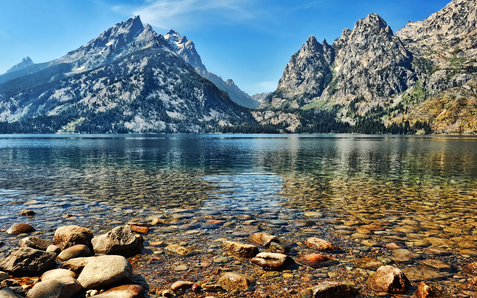 Jenny Lake in Grand Teton National Park, WY