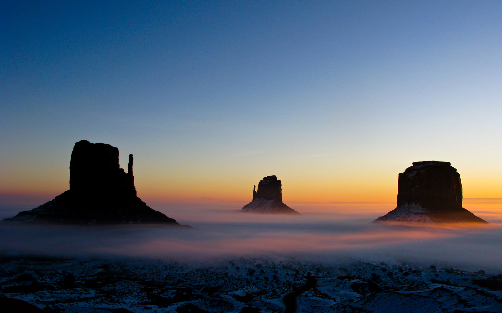 Monument Valley national landmark, AZ