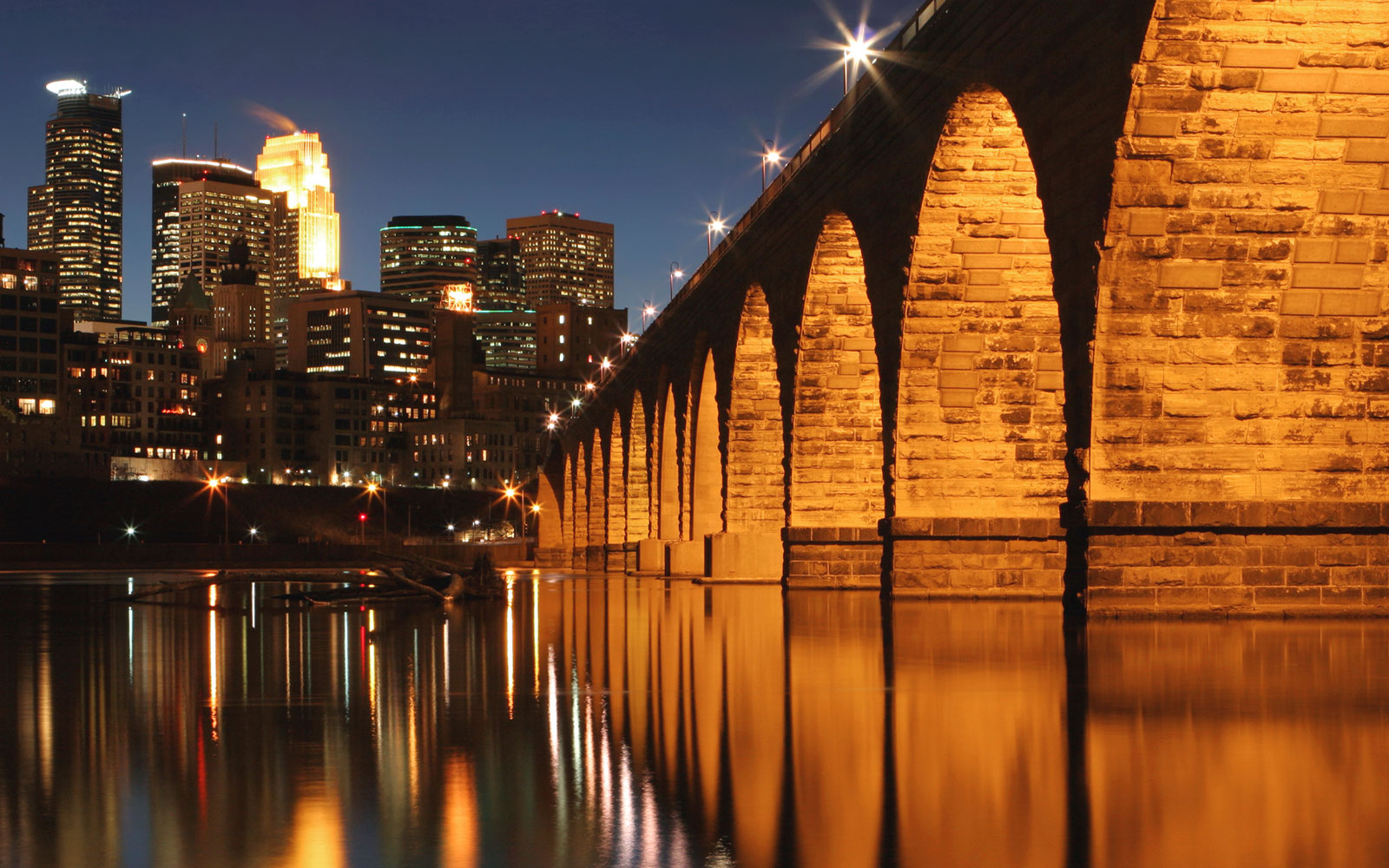 Stone Arch Bridge, Minneapolis