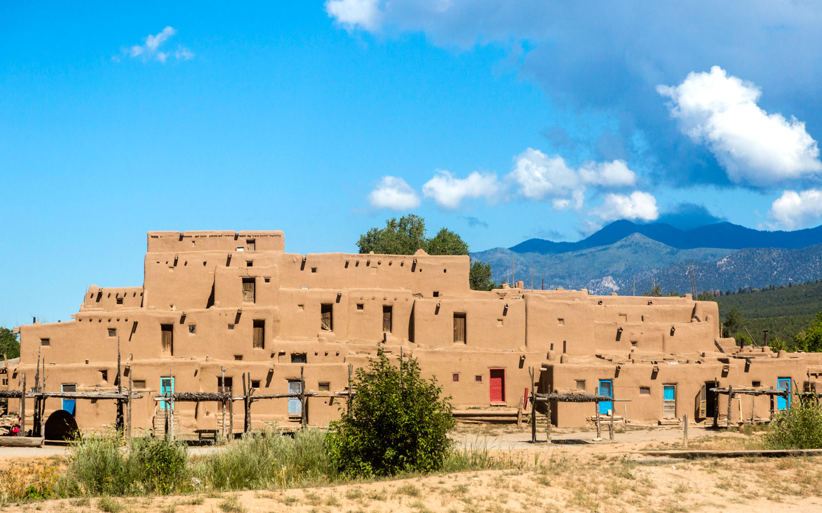 Taos Pueblo in Taos, NM