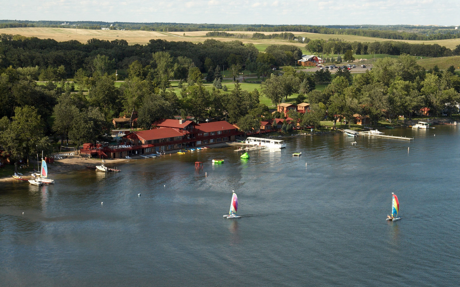 Americas Best AllInclusive Resorts Travel Leisure - North americas 9 most scenic lakes