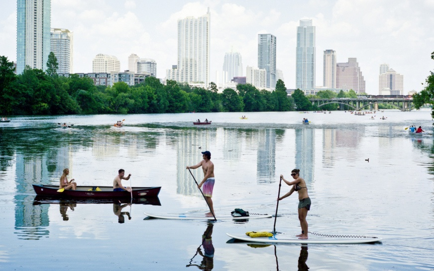 Lady Bird Lake, Texas